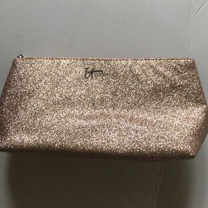 NWOT- It Cosmetics sparkly makeup bag